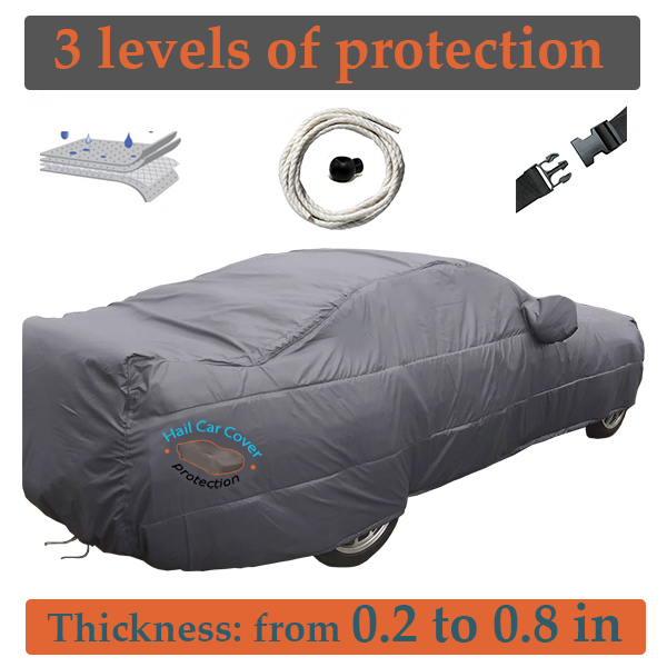 Hail car cover protection in Colorado
